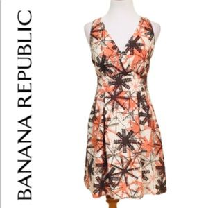 BANANA REPUBLIC Fit and Flare Dress with Pockets